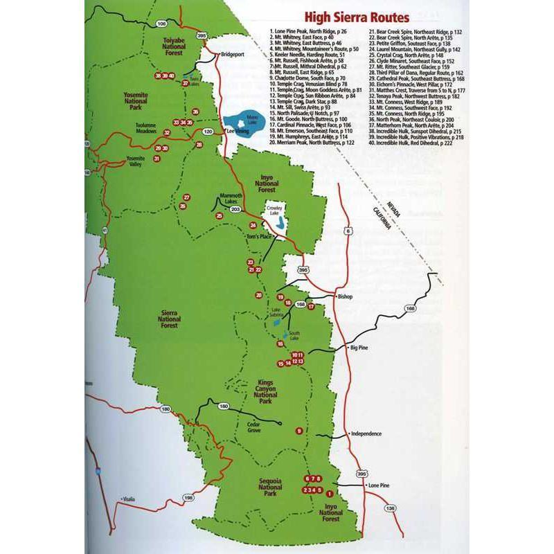High Sierra Climbing by SuperTopo