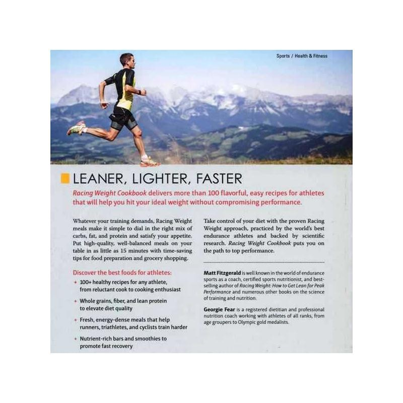 Racing Weight Cookbook: Lean Light Recipes for Athletes by VeloPress