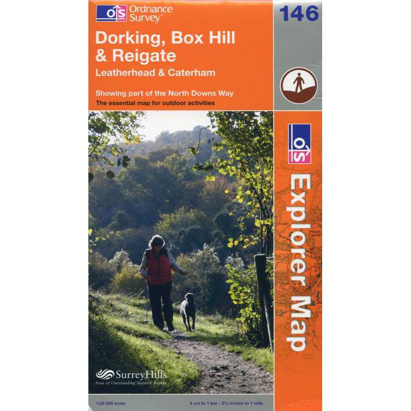 EXP146 Dorking Box Hill & Reigate: Leatherhead & Caterham