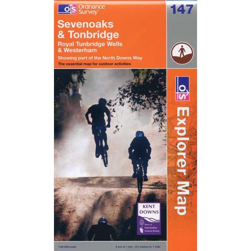 EXP147 Sevenoaks & Tonbridge: Royal Tunbridge Wells & Westerham