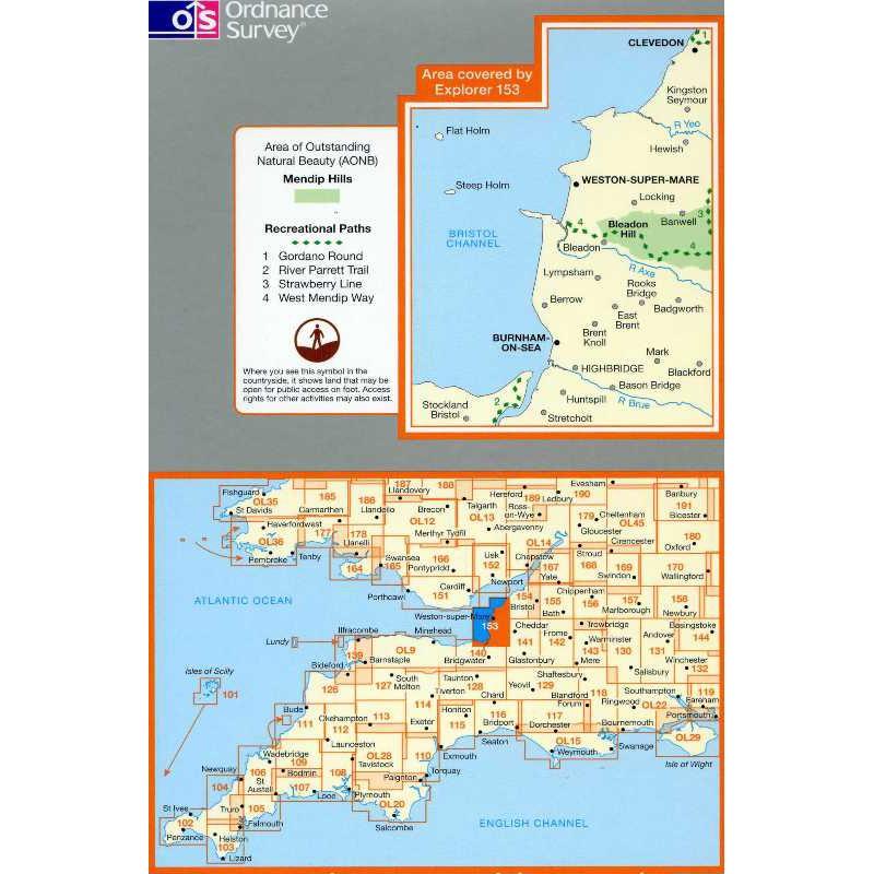 EXP153 Weston-super-Mare & Bleadon Hill: Burnham-on-Sea & Clevedon