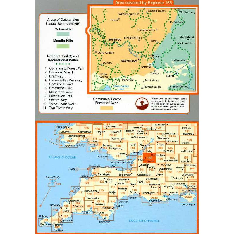 EXP155 Bristol & Bath: Keynsham & Marshfield