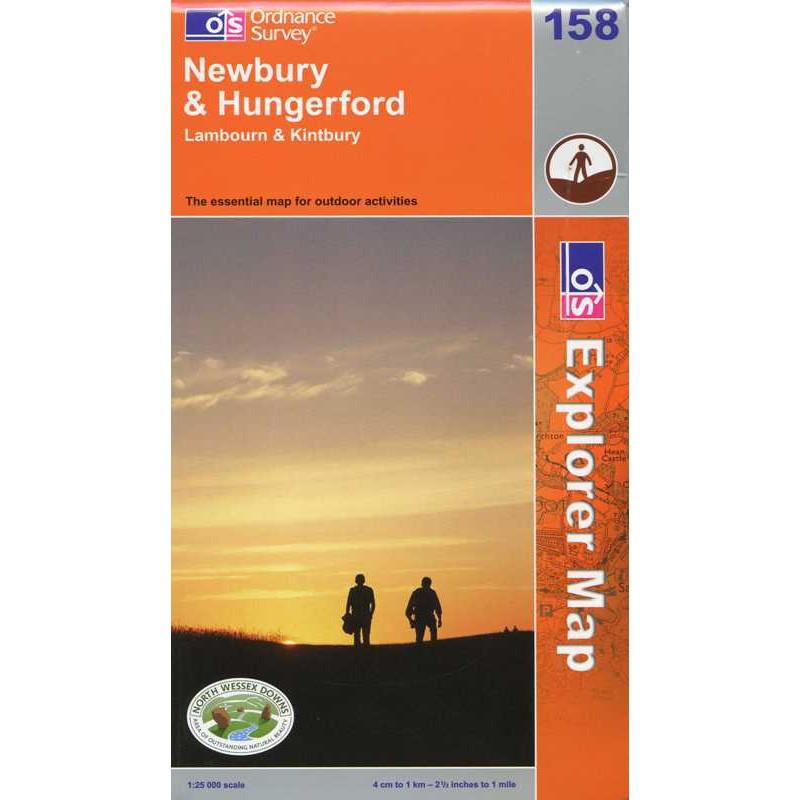 EXP158 Newbury & Hungerford: Lambourn & Kintbury