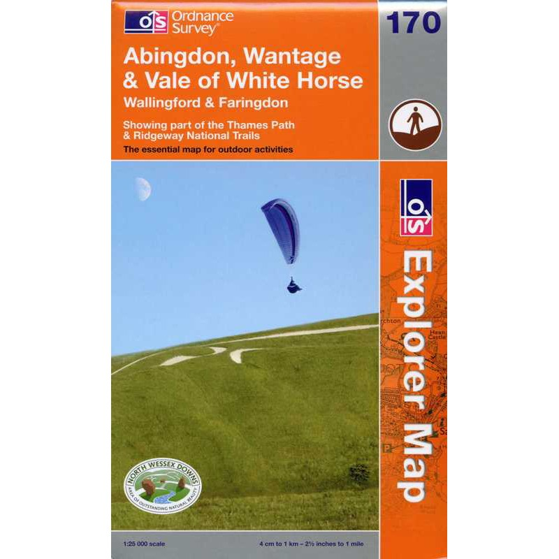 EXP170 Abingdon Wantage & Vale of White Horse: Wallingford & Faringdon