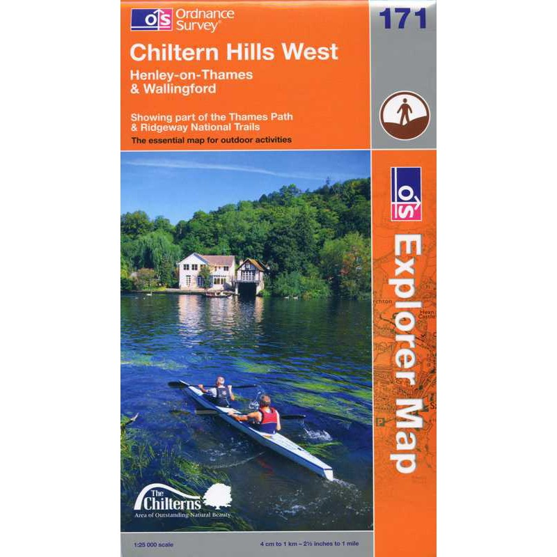 EXP171 Chiltern Hills West: Henley-on-Thames & Wallingford