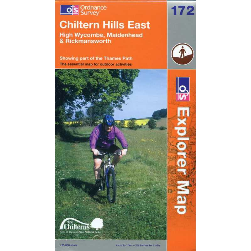 EXP172 Chiltern Hills East: High Wycombe Maidenhead & Rickmansworth