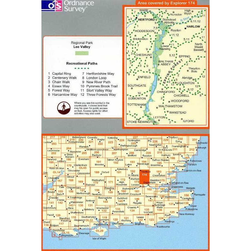 EXP174 Epping & Lee Valley: Hertford & Harlow