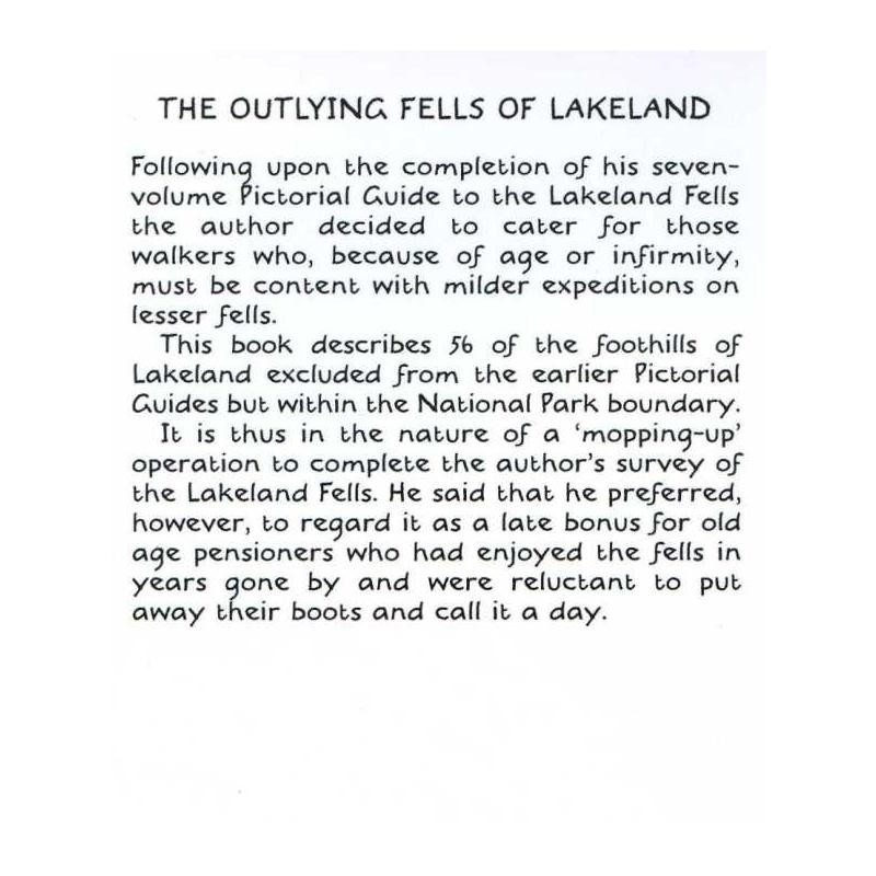 The Outlying Fells of Lakeland by Frances Lincoln