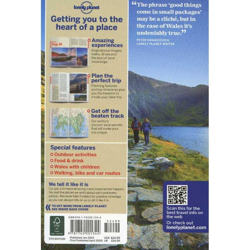 Wales by Lonely Planet