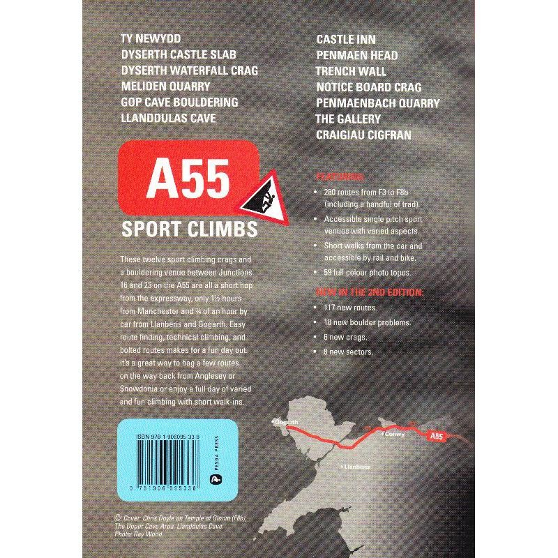 A55 Sport Climbs by Pesda Press
