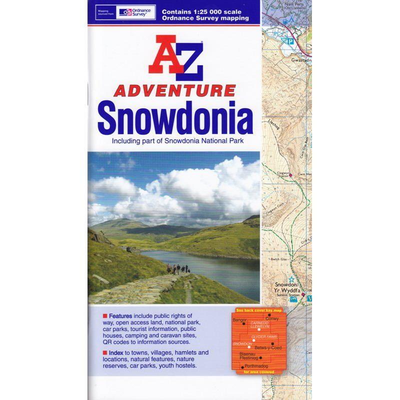 Snowdonia by A-Z