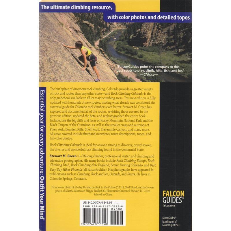 Rock Climbing: Colorado by Falcon Guides