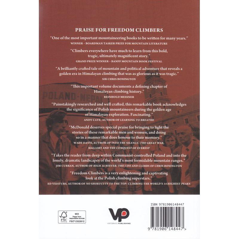 Freedom Climbers by Vertebrate Publishing