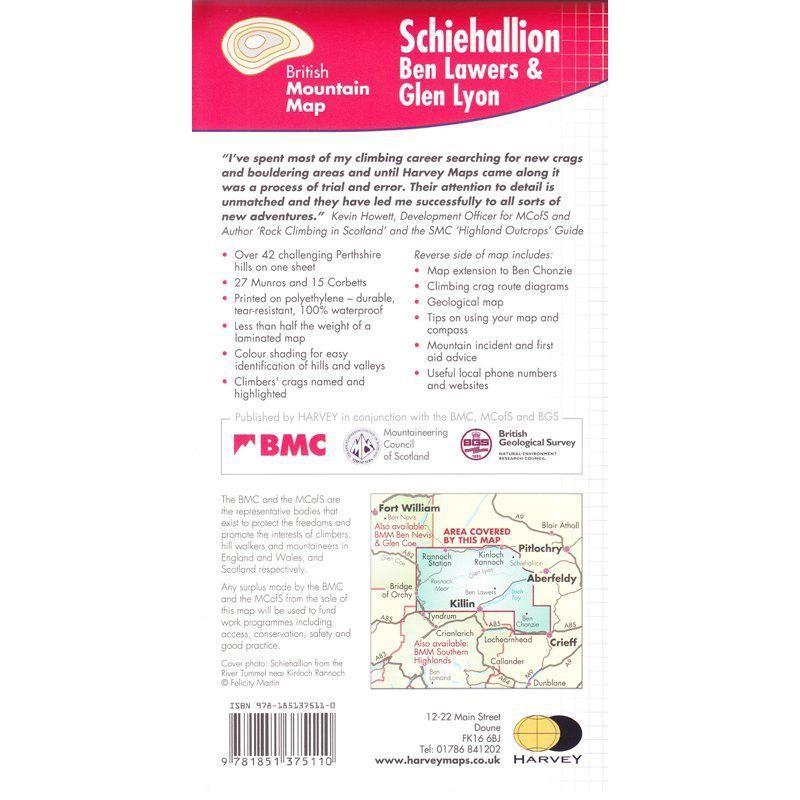 Schiehallion Ben Lawers & Glen Lyon by BMC