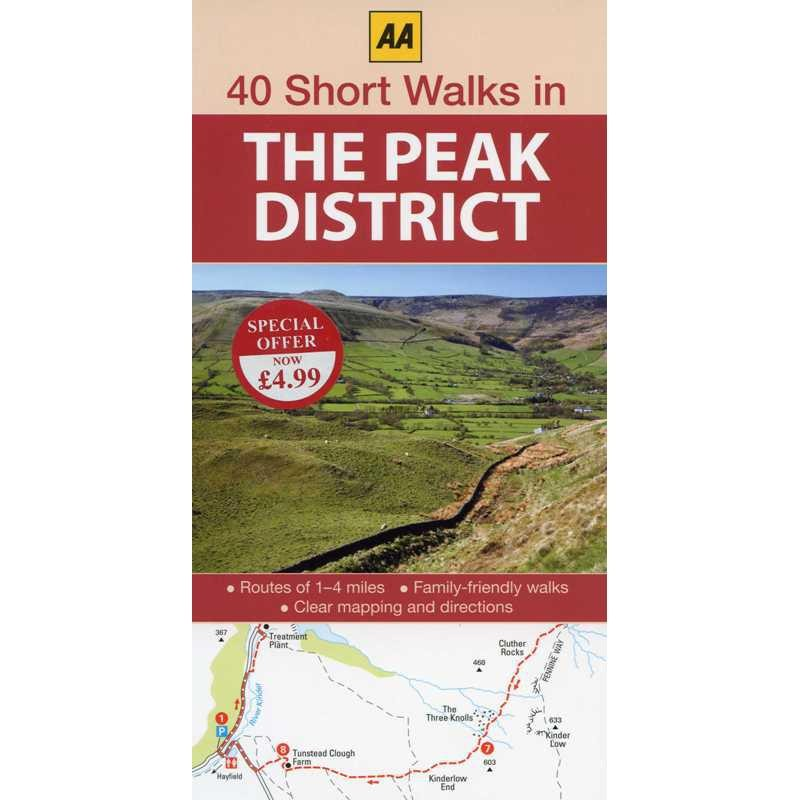 40 Short Walks in The Peak District