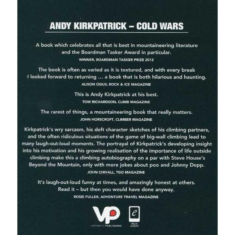 Cold Wars: Climbing the Fine Line Between Risk and Reality by Vertebrate Publishing