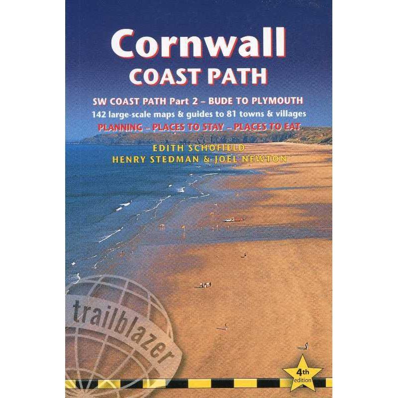 Cornwall Coast Path by Trailblazer Guides