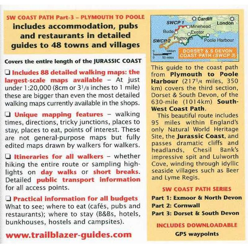 Dorset & South Devon Coast Path by Trailblazer Guides
