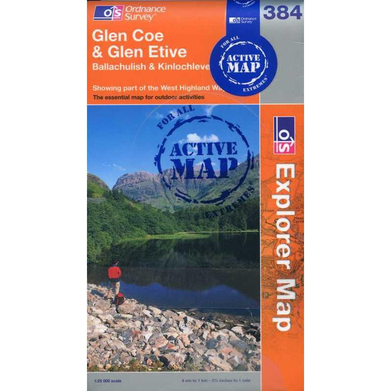 EXP384 Glen Coe & Glen Etive ACTIVE