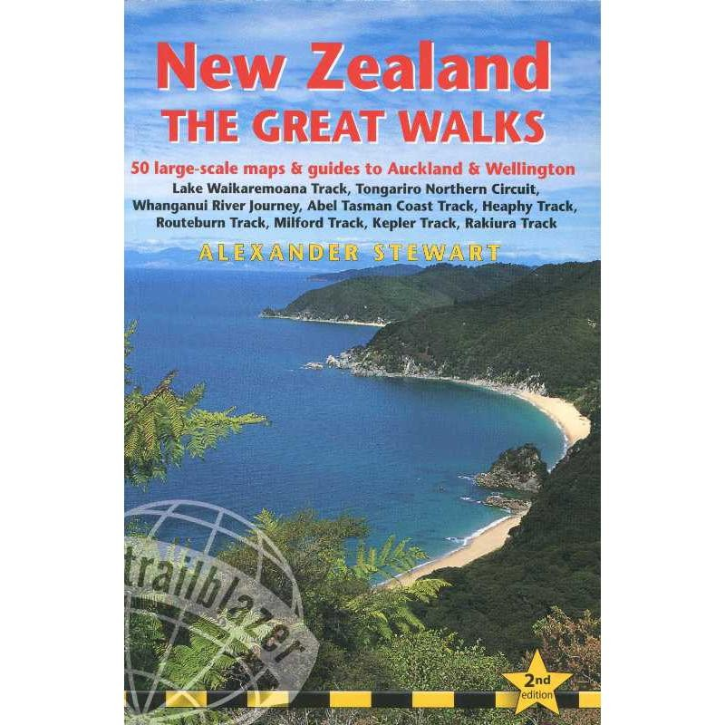 New Zealand: The Great Walks by Trailblazer Guides