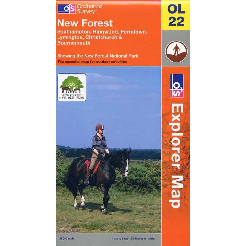 OL22 New Forest by Ordnance Survey