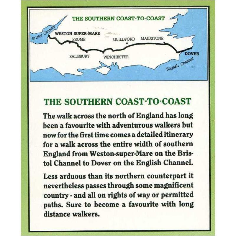 The Southern Coast to Coast Walk by Cicerone
