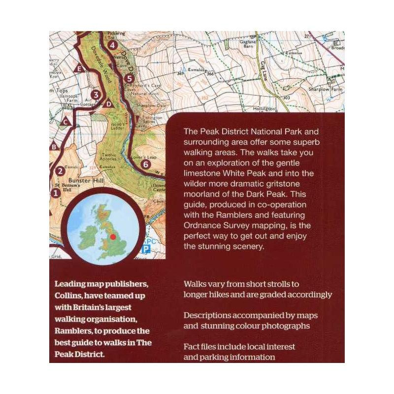 Walks in the Peak District: guide to 20 walks all over 5 miles