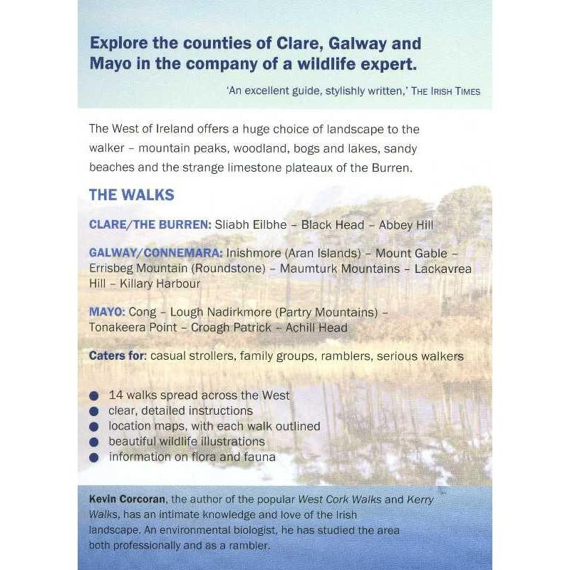West of Ireland Walks by The OBrien Press