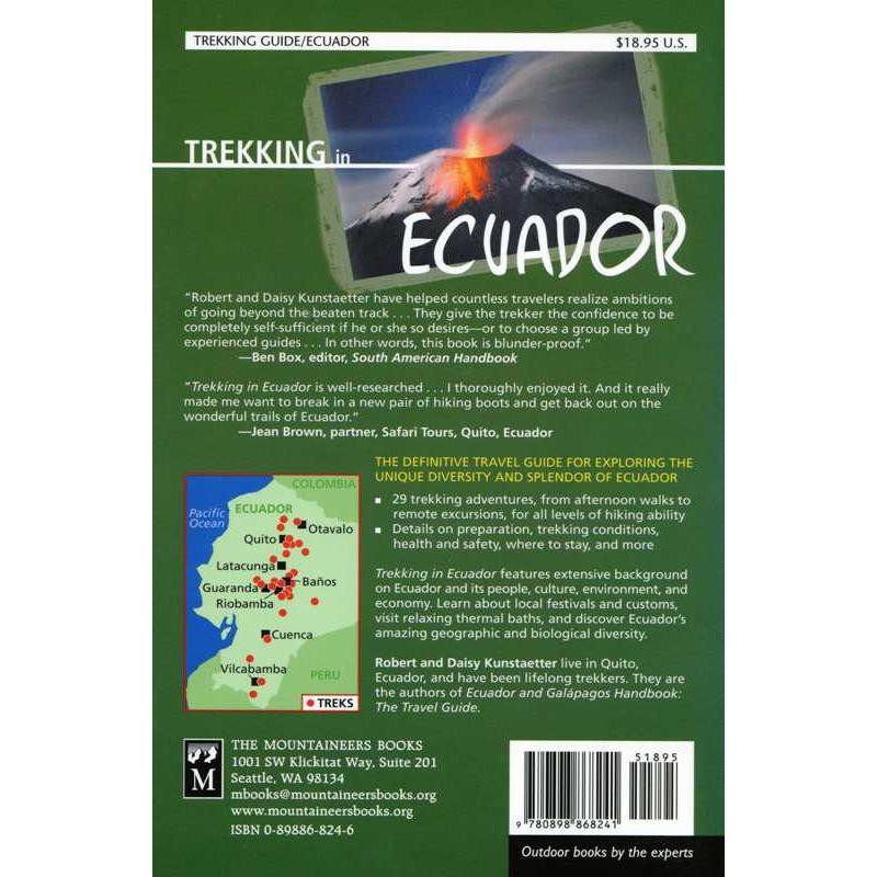 Trekking in Ecuador by The Mountaineers Books