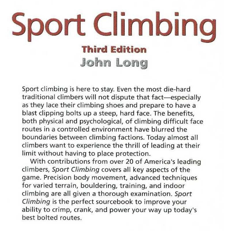 Sport Climbing by Falcon Guides