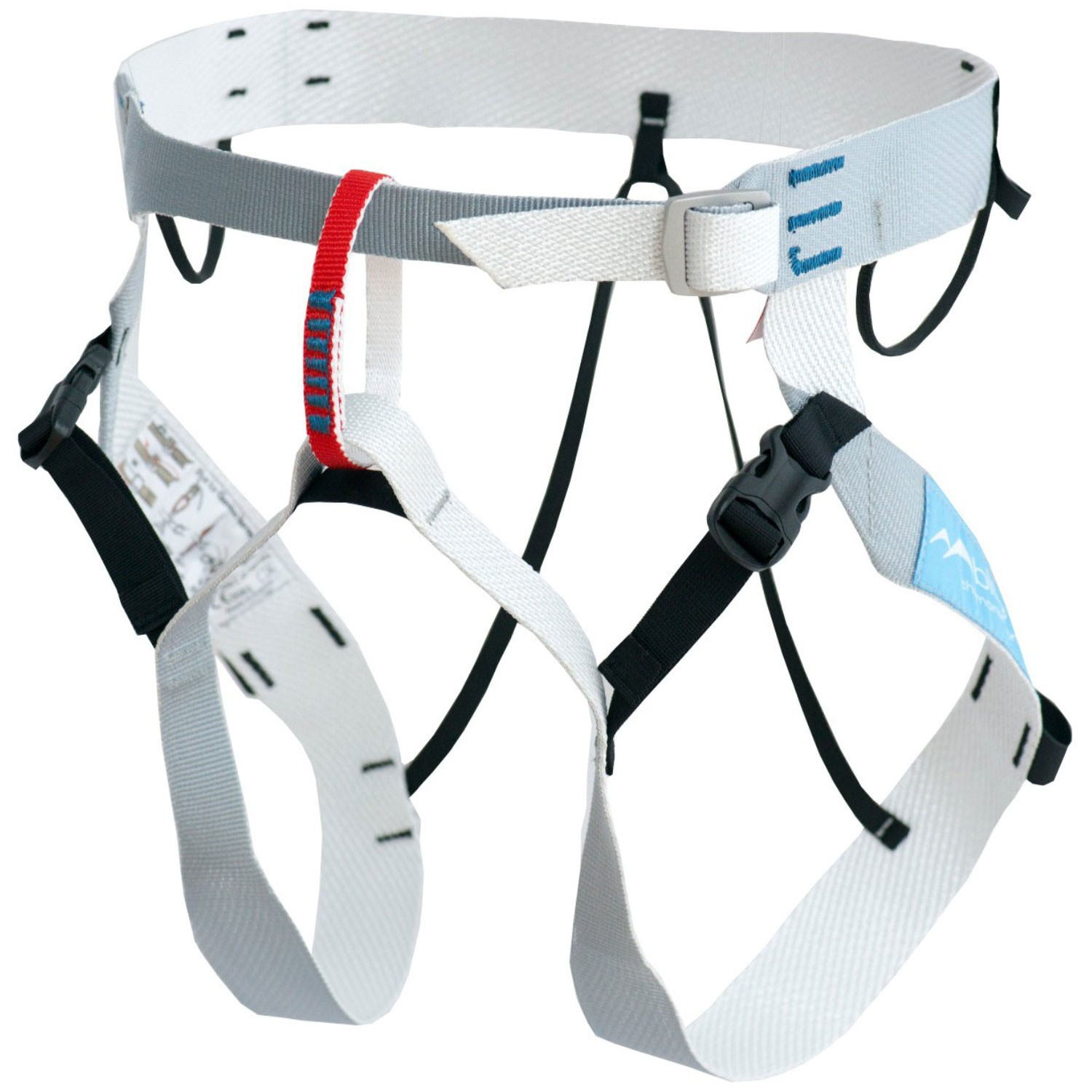 Blue Ice Choucas III Climbing Harness - White