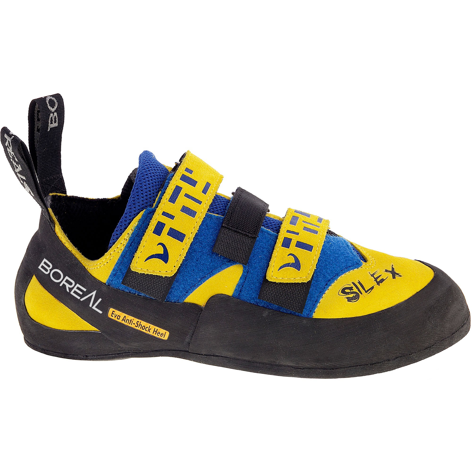 Boreal Silex Velcro Yellow/Blue