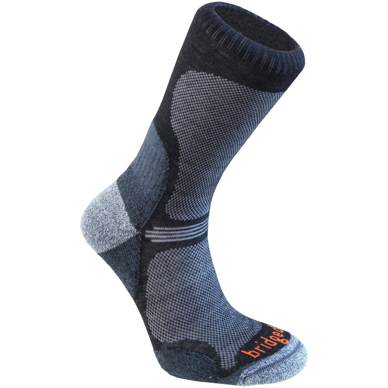 BRIDGEDALE - Ultra Light WoolFusion Socks - Black