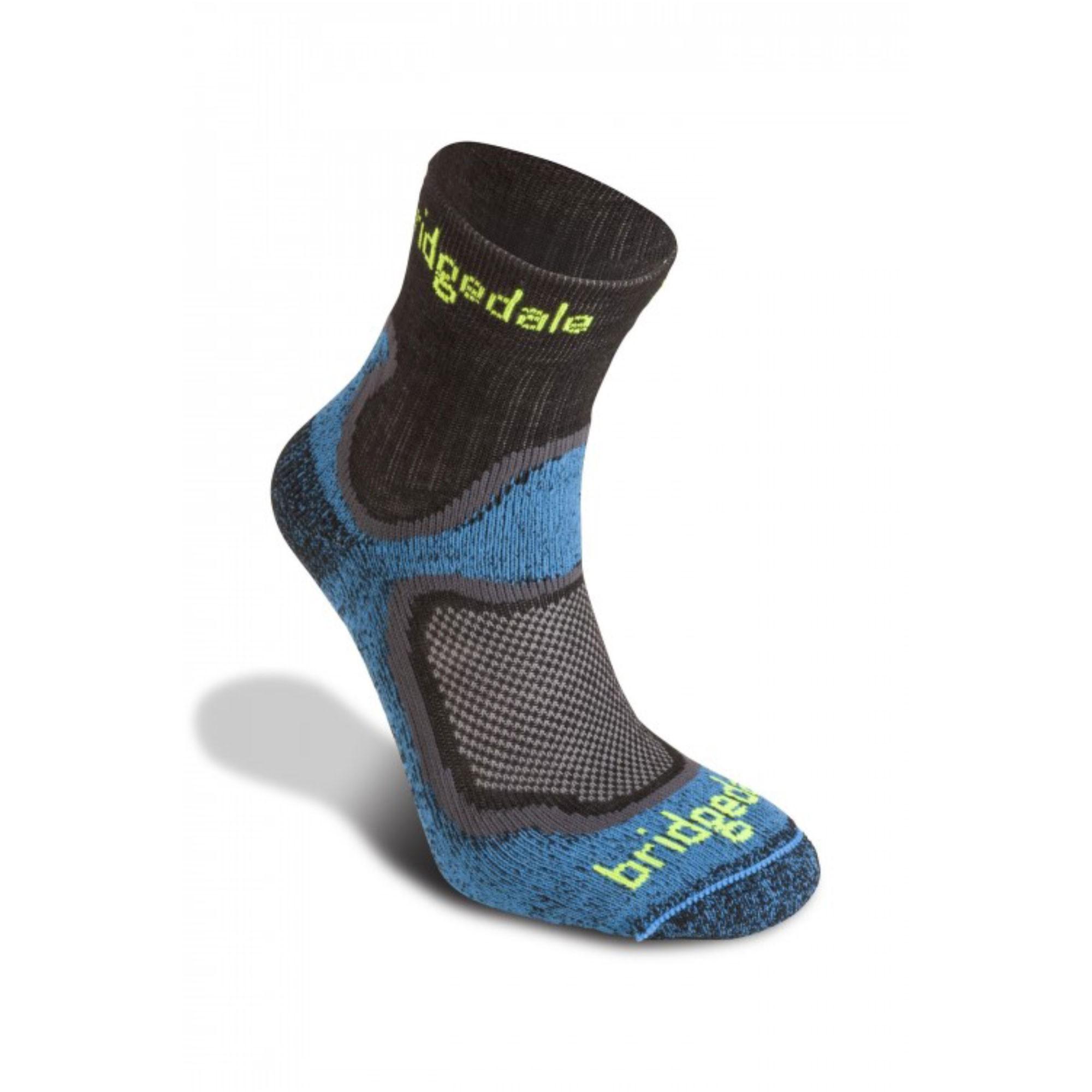 BRIDGEDALE - Speed Trail Sock - Blue/Shadow