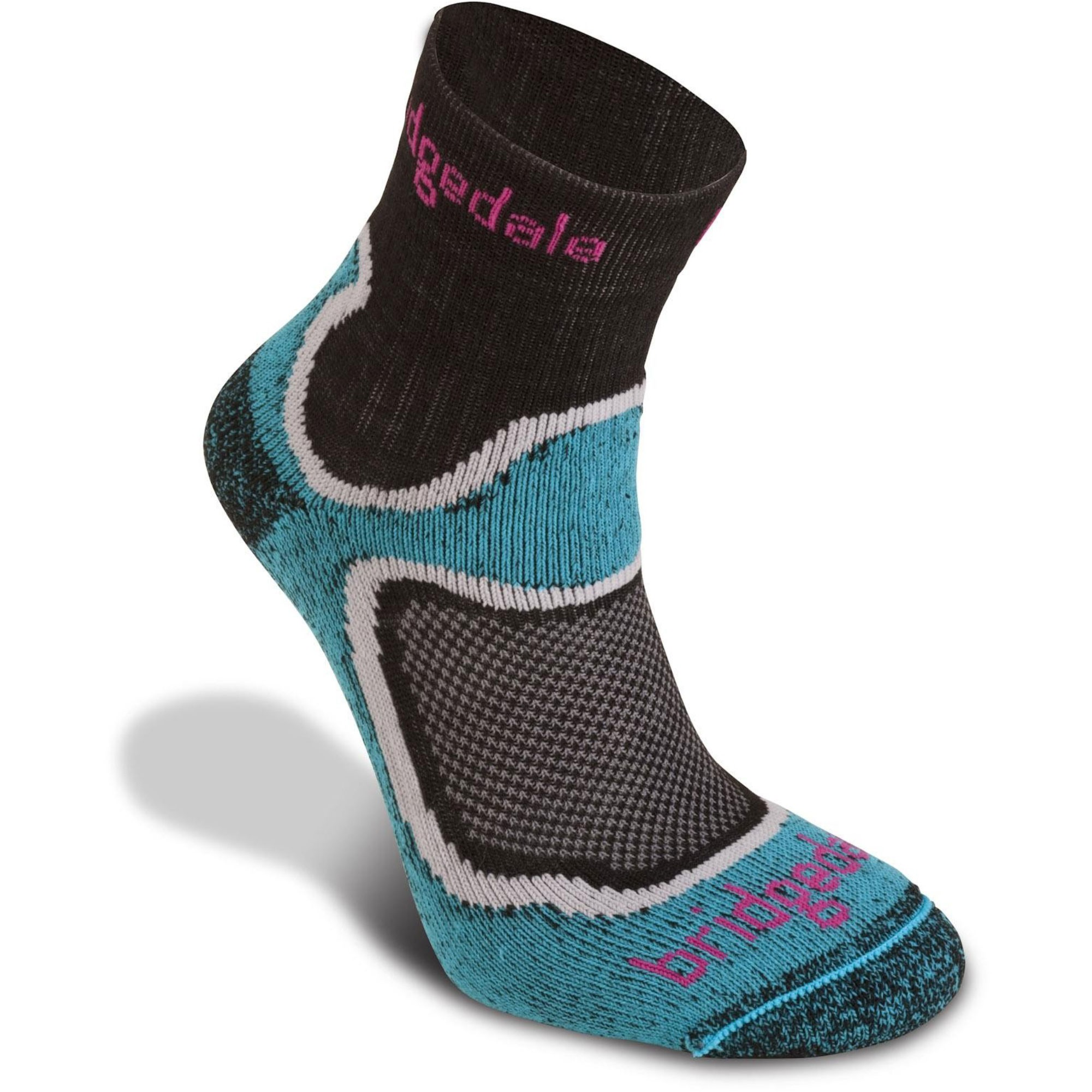 BRIDGEDALE - Speed Trail Women's Sock - Turquoise