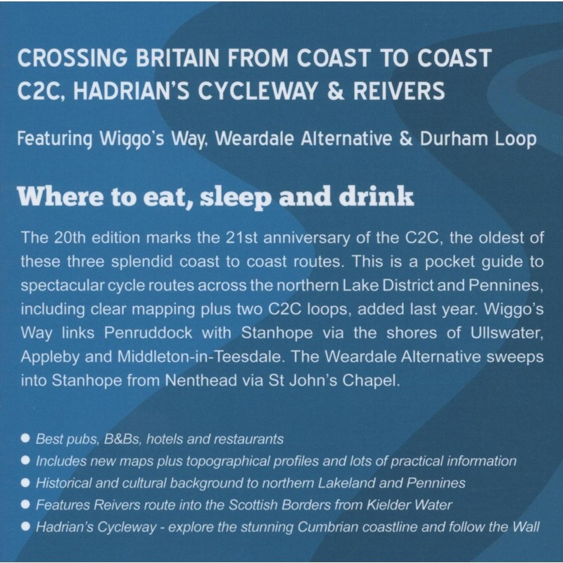 Coast to Coast Cycle Routes: Three Great Sea to Sea Rides by Baytree Press