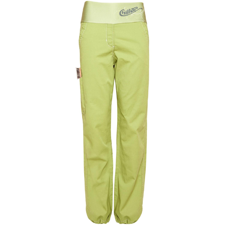 CHILLAZ - Sandra's Pant - Dark Lime Green