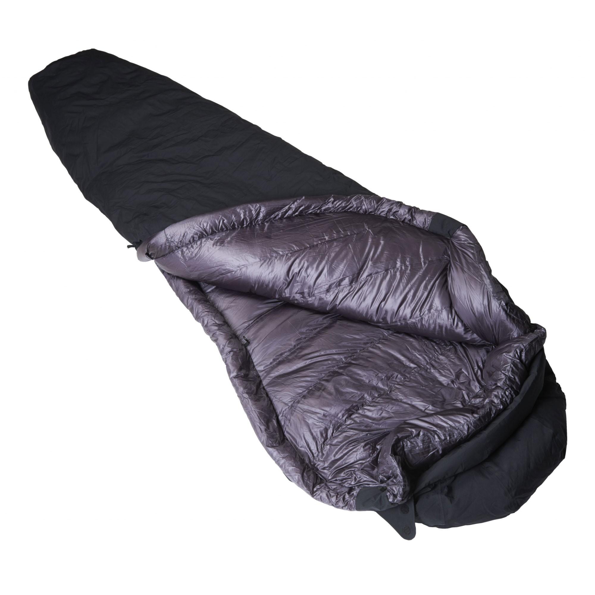 Crux Torpedo 700 Waterproof Down Sleeping Bag - Black/Anthracite