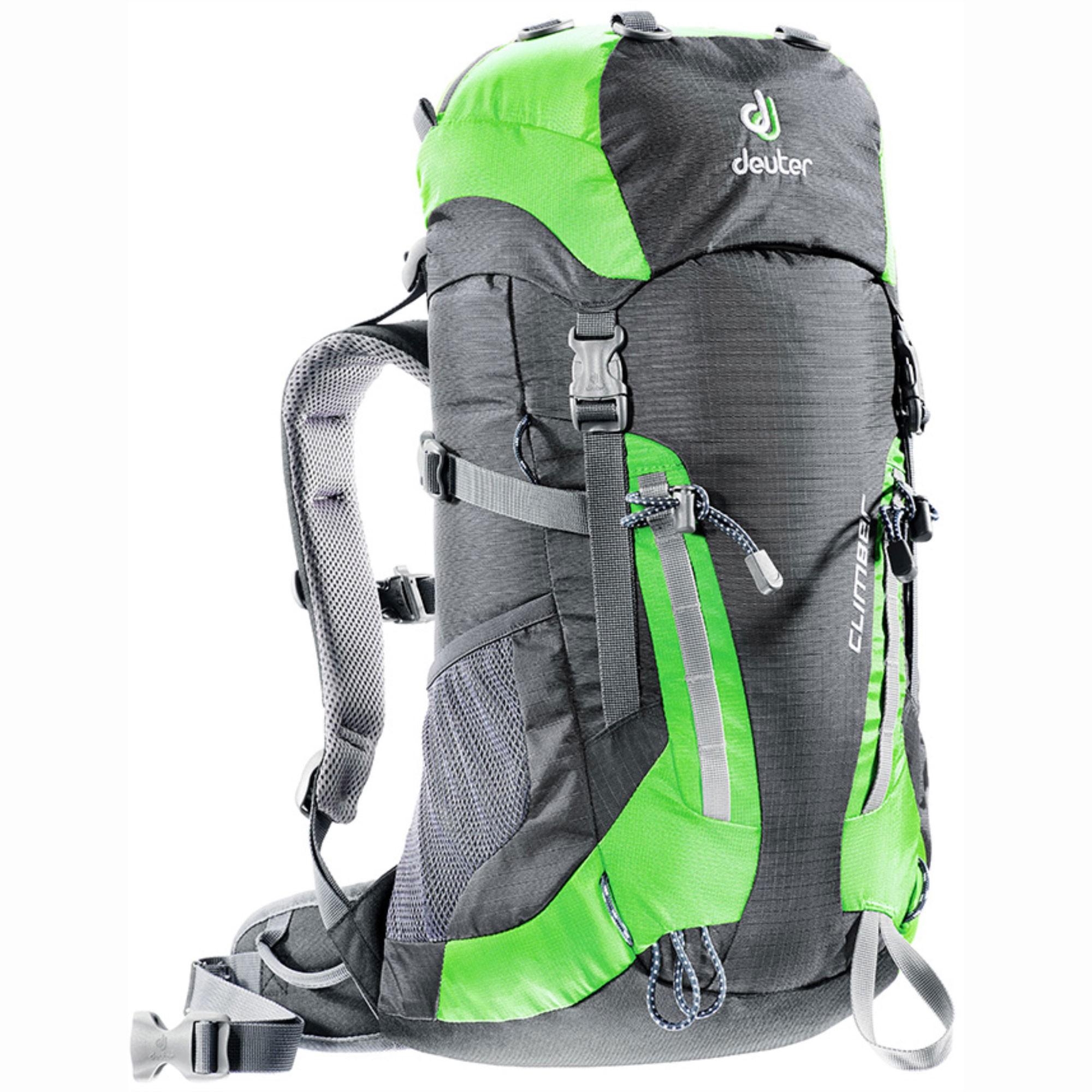 Deuter Climber Junior Rucksack - Anthracite/Spring