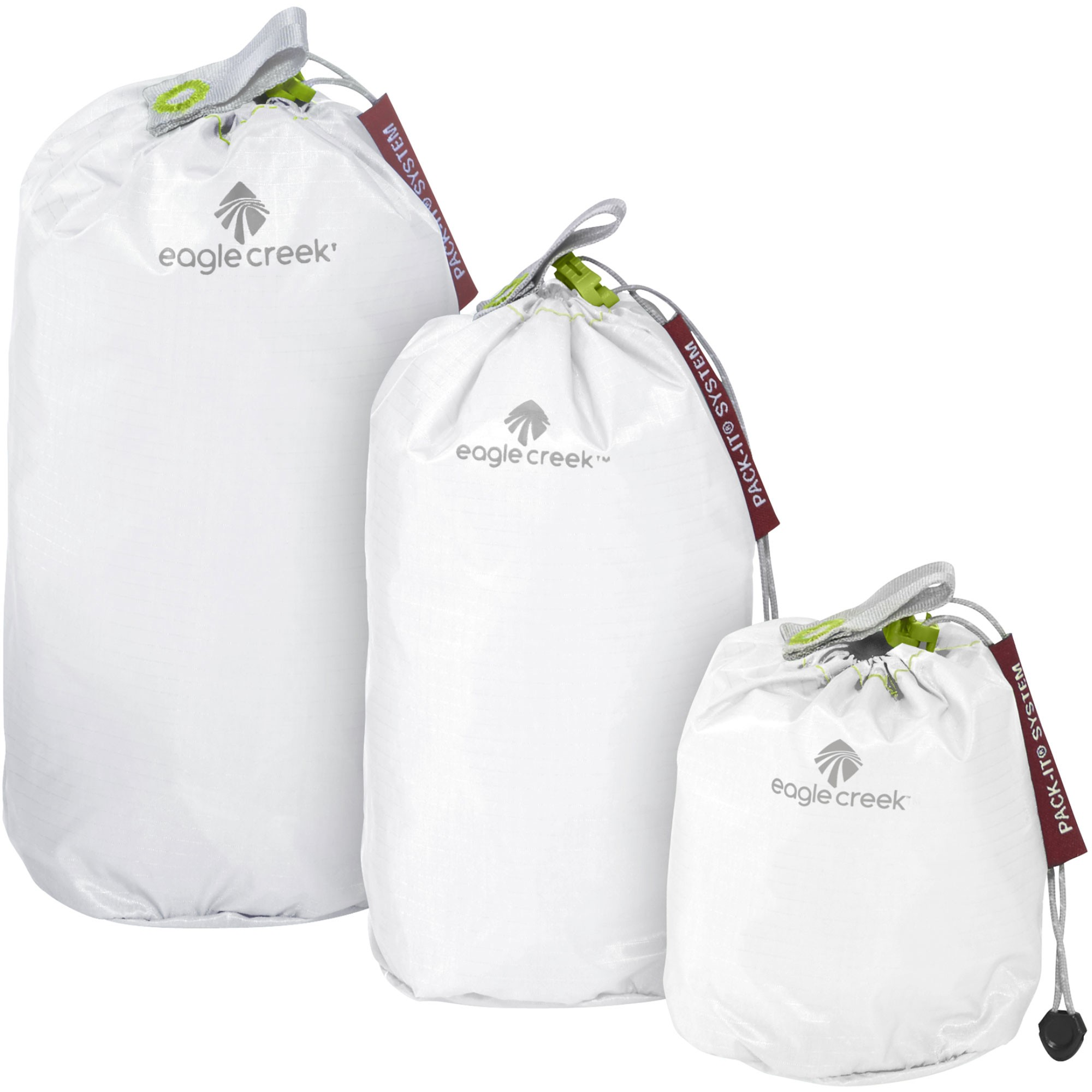 EAGLE CREEK - Pack-It Specter Stuffer Set Mini - White/Strobe Green