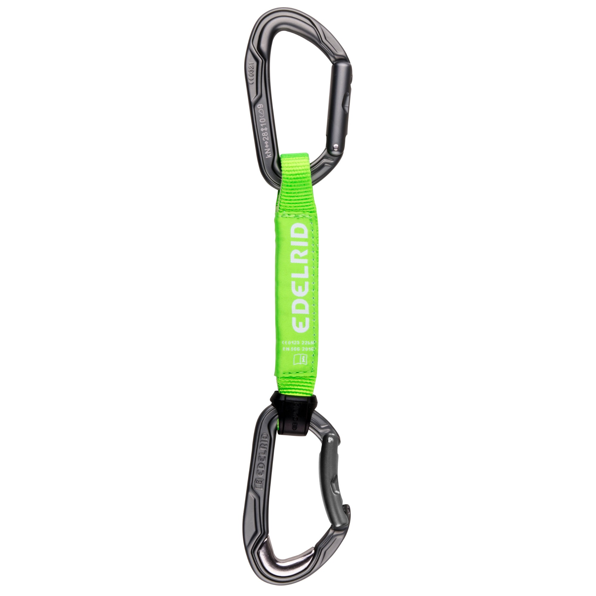 Edelrid Bulletproof Ambassador Quickdraw Set 16cm - Neon Green