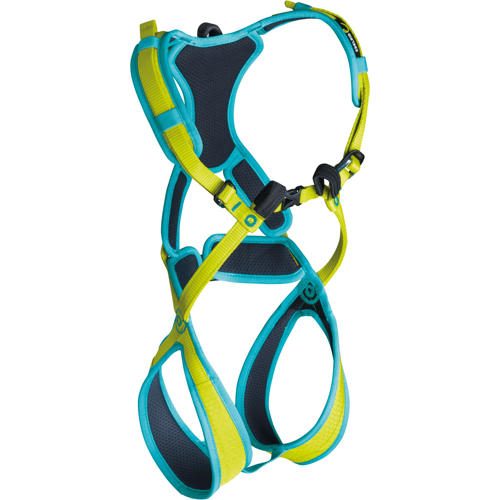 Edelrid Fraggle II Children's Climbing Harness - Oasis/Icemint