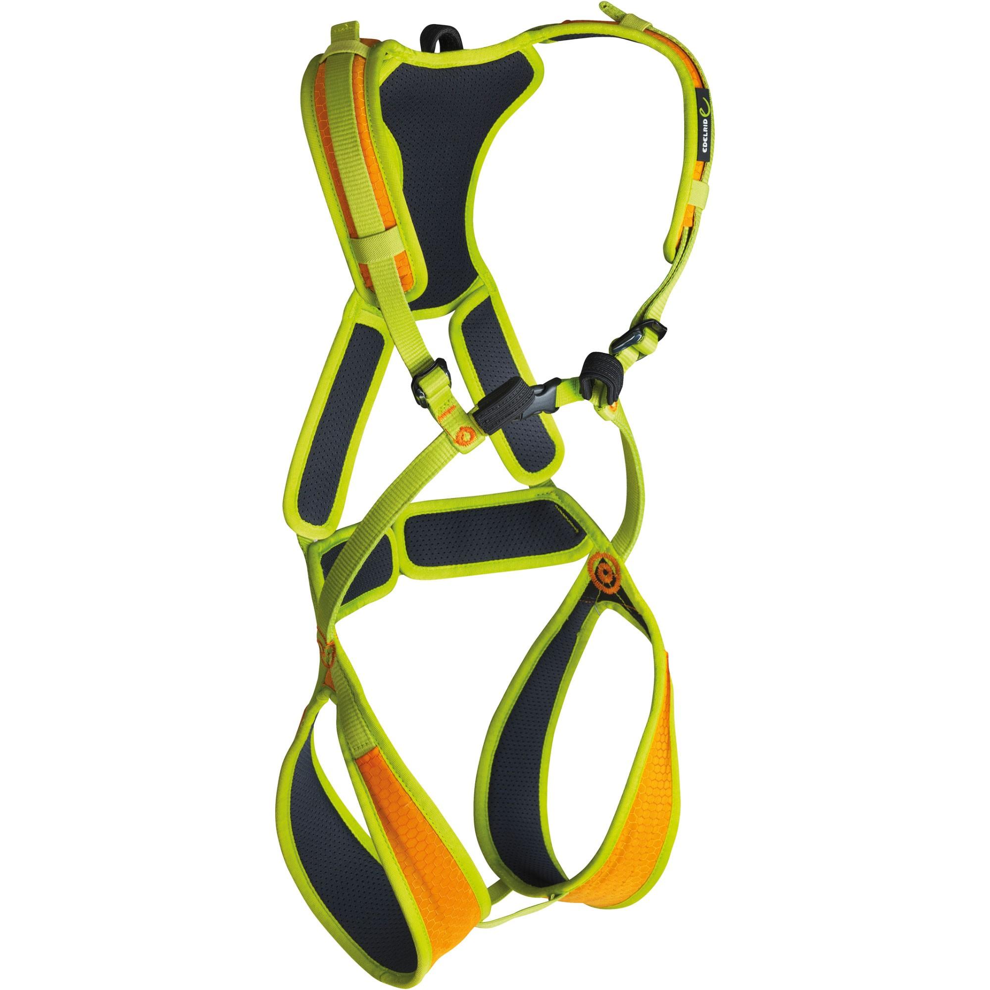 Edelrid Fraggle II Children's Climbing Harness - Sahara/Oasis