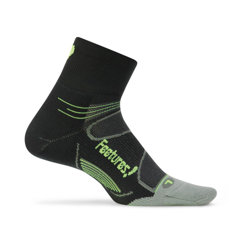 Feetures Elite Light Quarter Black