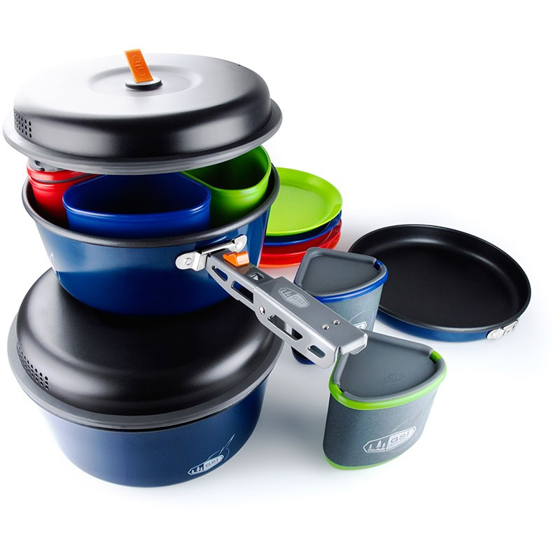 The GSI Bugaboo Camper 4-person Cookset