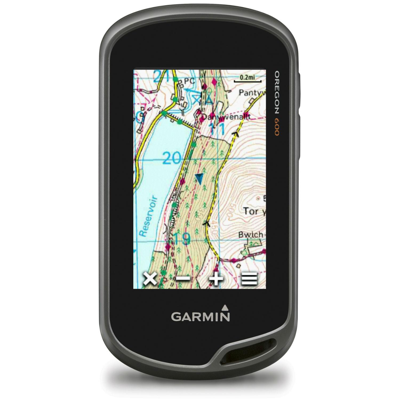Garmin Oregon 700 with Full UK 1:50k OS Mapping