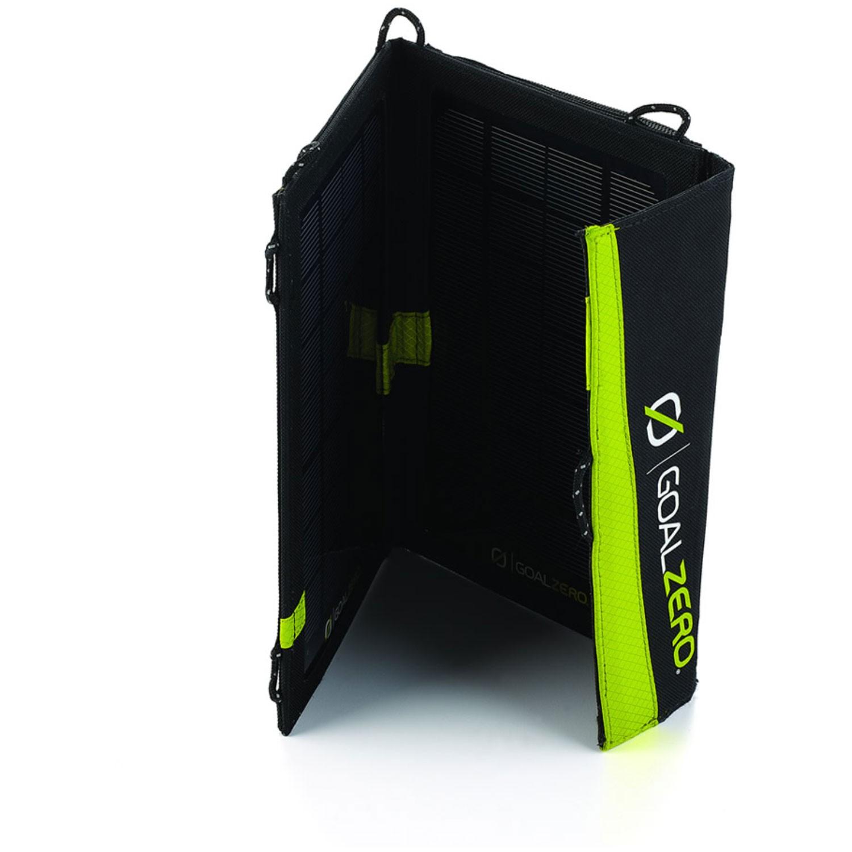 The Goal Zero Guide 10 Plus Solar Kit
