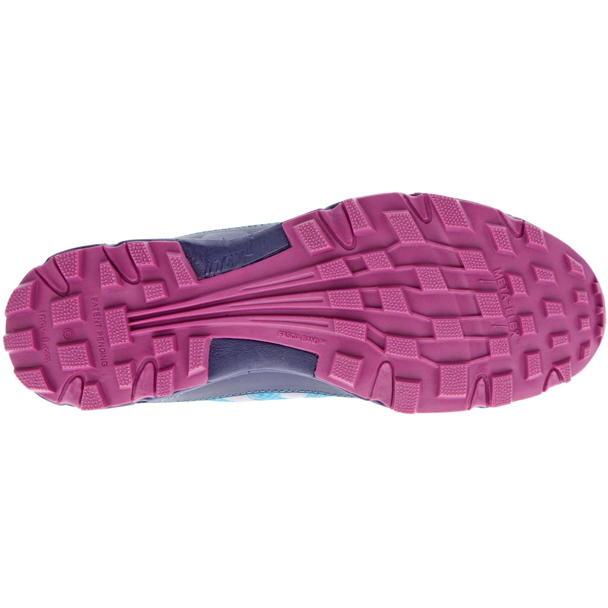 Inov8 Womens Roclite 280 Teal and Navy and Purple