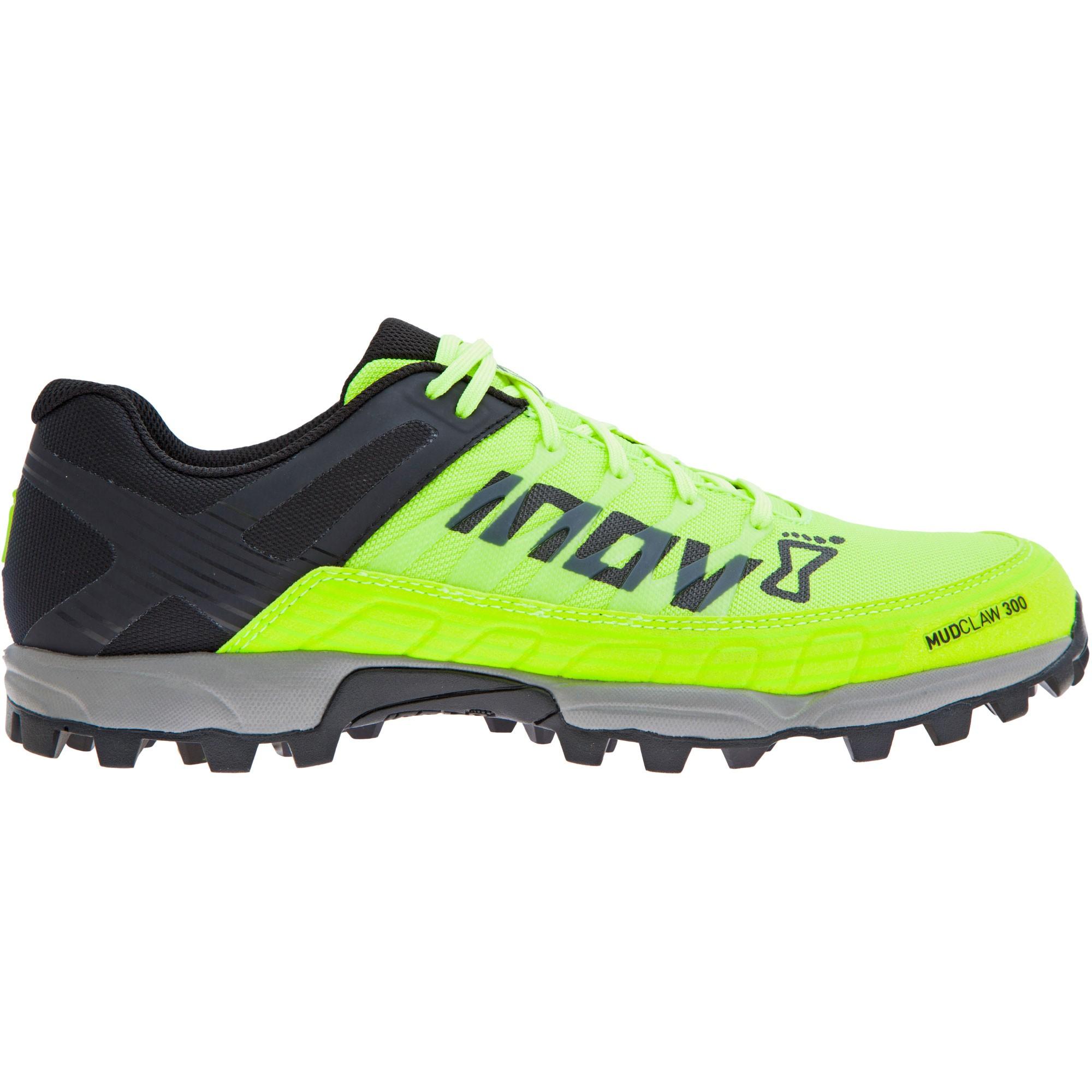 INOV8 - Mudclaw 300 Fell Running Shoes - Yellow/Black/Grey