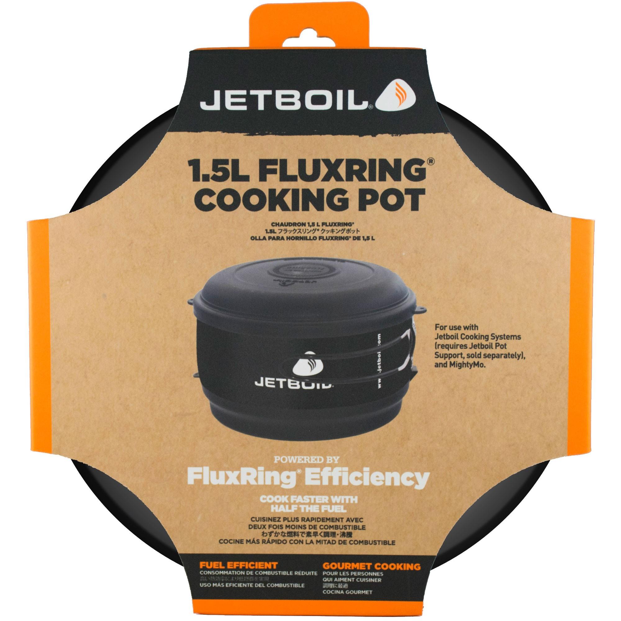 Jetboil FluxRing 1.5l Cooking Pot Black